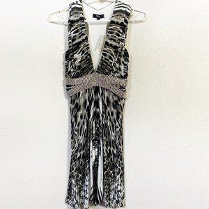 Sky Animal Print Dress or Tunic NWT Size L